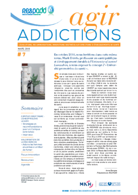 Agir Addictions 7