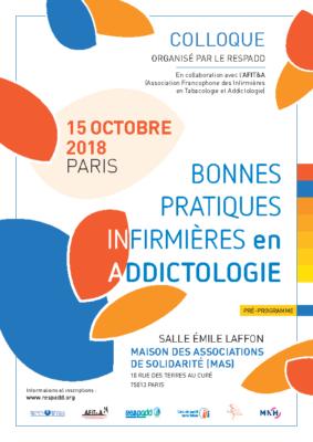 Programme du Colloque 15 oct. 2018