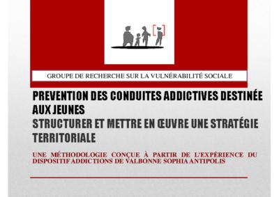 Prévention des conduites addictives destinée aux jeunes : structurer et mettre en œuvre une stratégie territoriale.