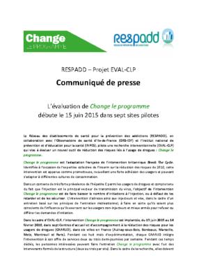 Communique de Presse EVAL CLP