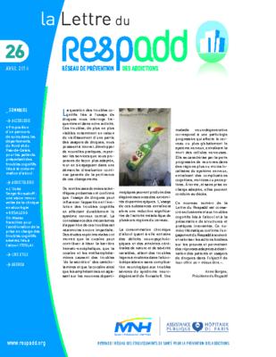 La lettre du Respadd 26