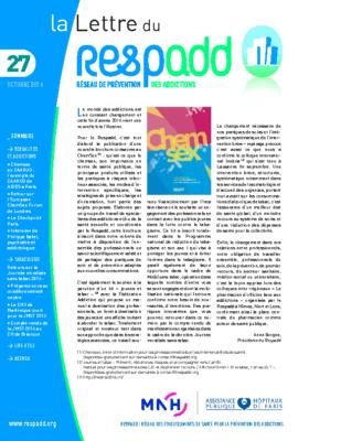 La lettre du Respadd 27