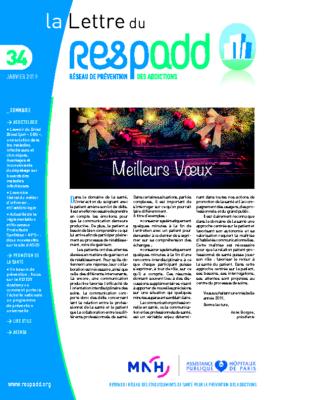 La lettre du Respadd 34
