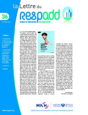 La lettre du Respadd n° 36