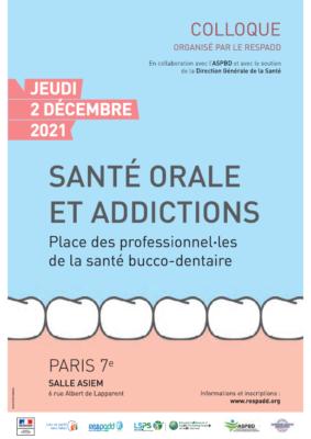 Colloque Santé orale et Addictions